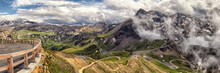View On Grossglockner High Alpine Road; Austria