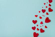 Valentine Day Background. Many...