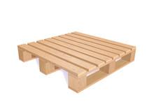 Vector Wooden Pallet