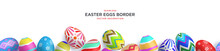 Colorful Painted Easter Eggs S...