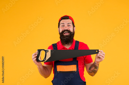 professional repairman in uniform Fototapet