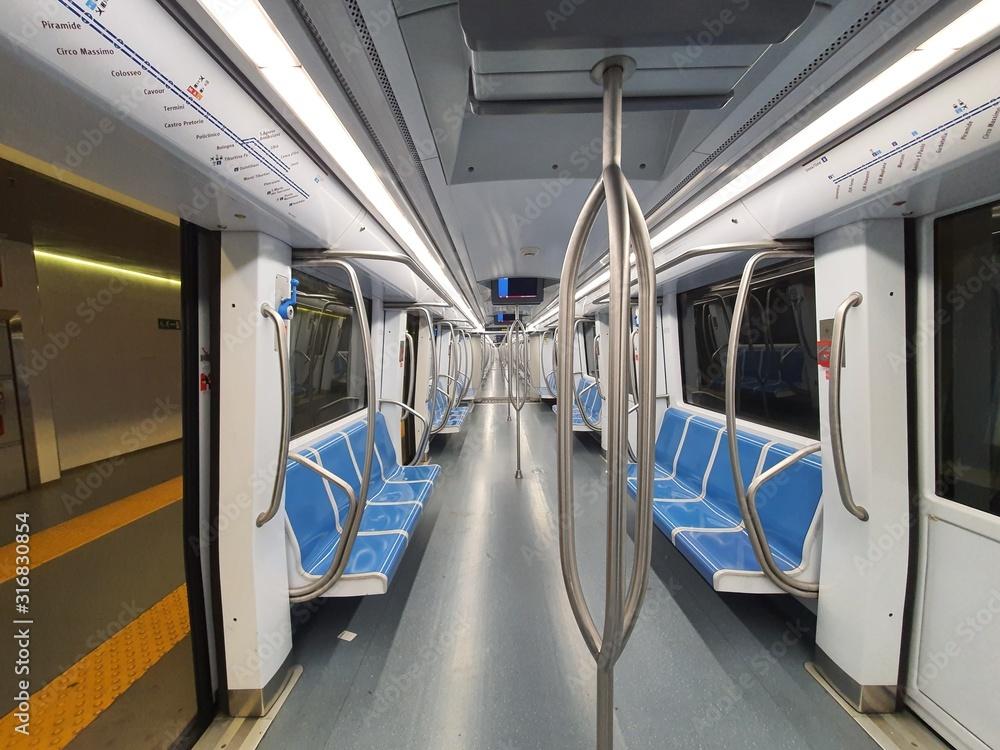 Fototapeta Metropolitana di Roma, Linea A