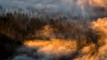 Splendid Sunrise In The Carpat...