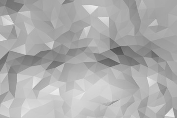 Repeat geometric triangle mosaic gradient, Visualization 3D render abstraction pattern, nice background texture.