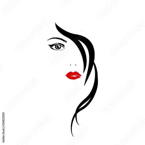 Obraz na plátně girl
