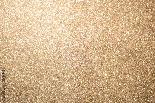 Gold shiny glitter background Poster Mural XXL