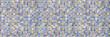 Leinwanddruck Bild - Geometric pattern or floor and wall surface. Mosaic tiles wide panoramic wallpaper.