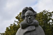 Statue Von Henrik Ibsen In Nor...