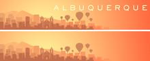 Albuquerque Beautiful Skyline ...