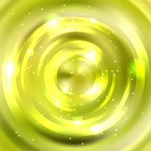 Abstract Green Background, Shi...