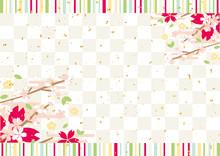 春 桜 金紙吹雪 ス...