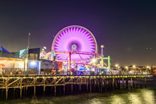 Santa Monica Pier Carousel At ...