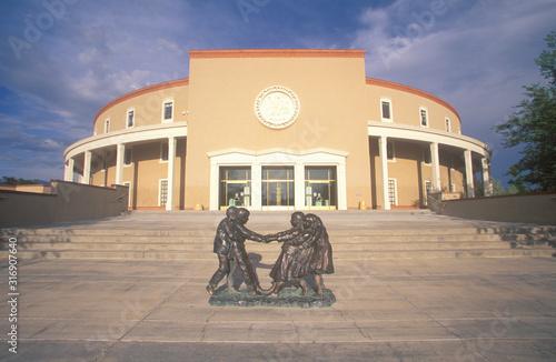 Naklejka premium Kapitol stanu Nowy Meksyk, Santa Fe