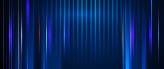 Illustration of light ray, stripe line with blue light, speed motion backgrou...