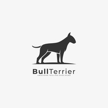 Vector Logo Illustration Bull ...