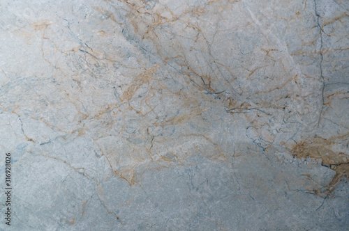 Polished bright granite as a background motive Canvas Print