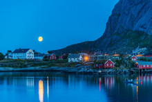 Full Moon On The Village Of Re...