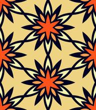 Seamless Pattern Morrocan Orna...