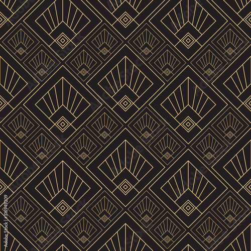 Photographie Gold pattern