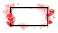 Happy Valentines Day.  Pink Fl...