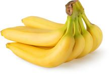 Bunch Of Six Bananas Fruits Is...