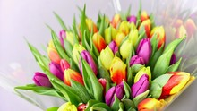 Colorful Tulip Flower Bouqet C...
