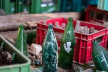 Abandoned Old Bottles