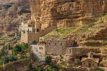 Greek Orthodox Monastery Of Saint George In Wadi Qelt