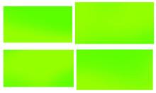 Bright Green Yellow Vector Ret...