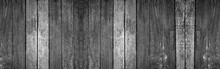Panorama Old Wood Wall With Be...