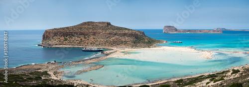 Photo A day on the cruise ship to balos lagoon and Gramvousa island setting sail fron