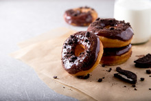 Pastries Concept. Donuts With ...