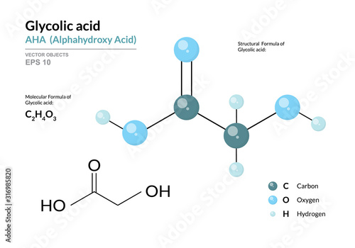 Photo Glycolic acid