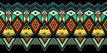 Tribal Pattern Vector. Seamles...