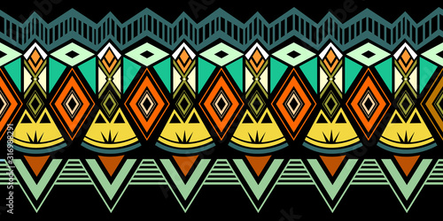 Photo Tribal pattern vector