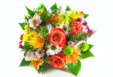 Beautiful Bouquet Of Different...
