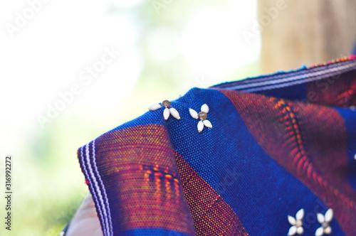 Handicraft fabric and textile of Thai hilltribe Tapéta, Fotótapéta