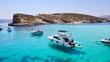 canvas print picture - Comino Malta