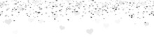 Seamless Confetti Hearts Backg...