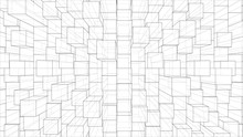 Abstract Background Of Cubes O...