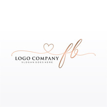 Initial FB Beauty Monogram And...