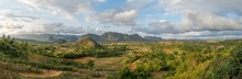 Vinales Valley Panorama With M...