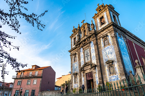 Porto Church Santo Ildefonso Wallpaper Mural