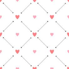 Valentine Seamless Pattern Wit...