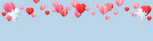 Valentines Day Panorama Banner...