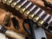 Pump Action Shotgun, 12 Mm Hun...