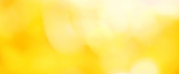Beautiful Nature blurred yellow summer Background