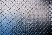 Grunge Diamond Metal Background, Welded Steel Surfaces