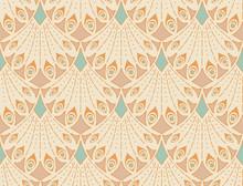 Art Nouveau Seamless Pattern I...