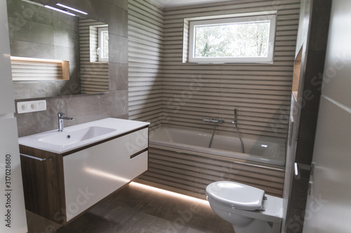 Fototapeta salle de bains obraz